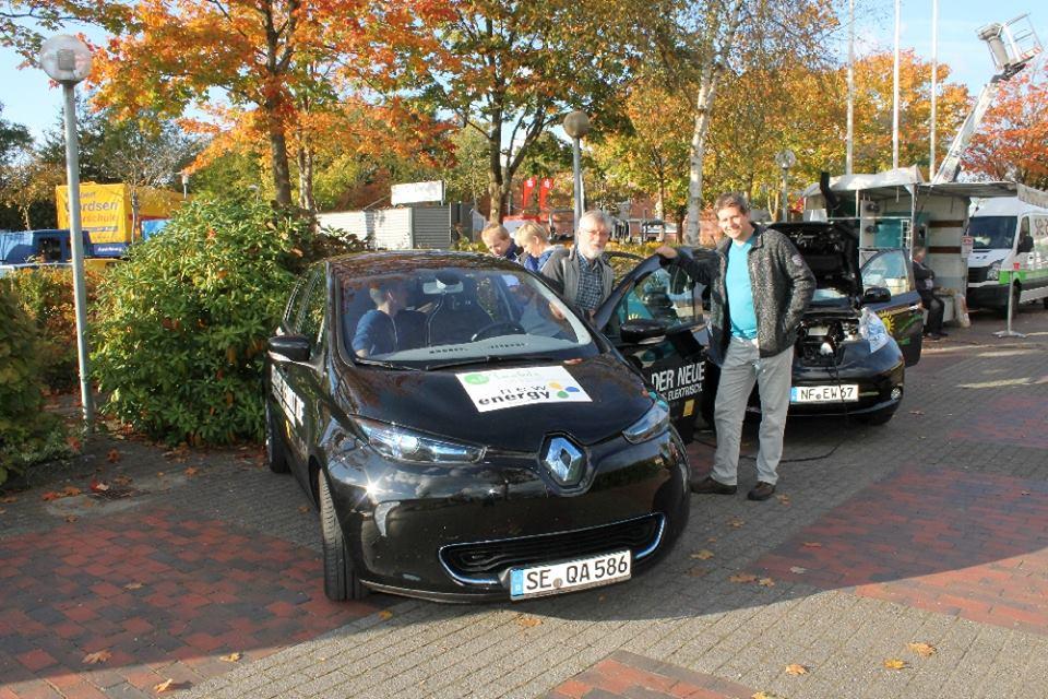 Elektromobilität live und in Farbe